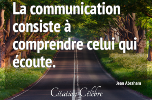 citation célèbre communication
