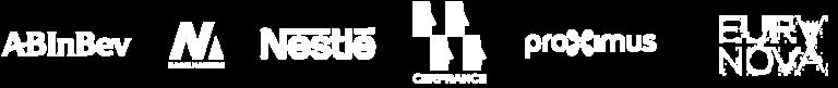 Entreprises comme ABInbev Nagel Makers Proximus qui utilisent l'éditeur de podcasts vidéo LiLiCAST