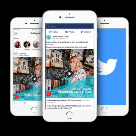 publish social networks