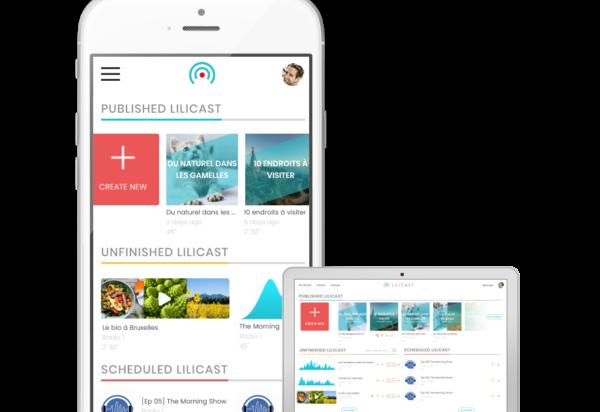 lilicast app