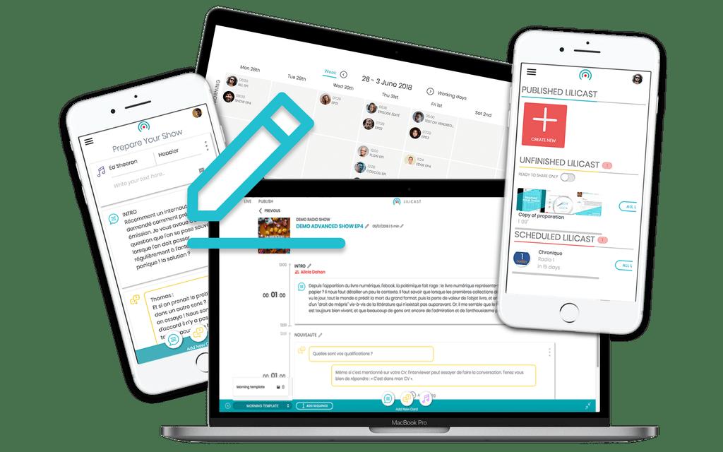 UI design lilicast